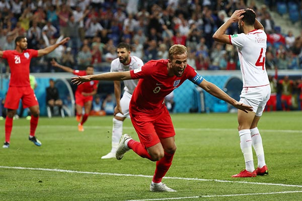 Kane Voted MOTM In England Win Vs Tunisia