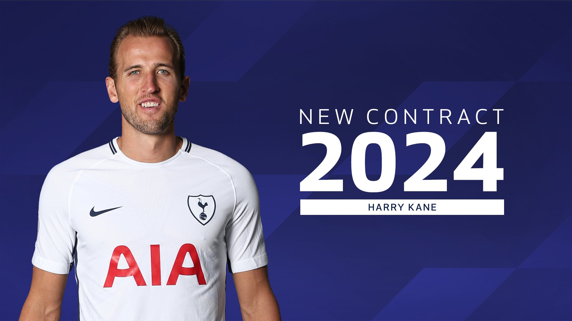 Kane Signs New Long-Term Deal With Tottenham