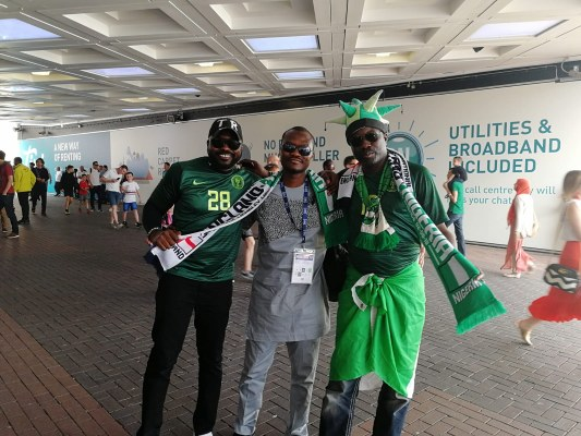 THROWBACK: When Nigerians 'Invaded' Wembley For Super Eagles Fiesta