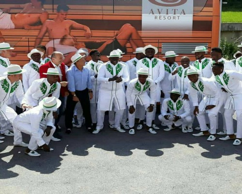 Stylish Super Eagles Off To Russia For World Cup