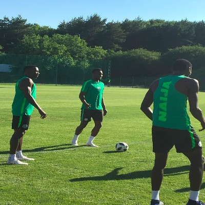 Super Eagles To Meet Press, Train At Venue Of Iceland Clash