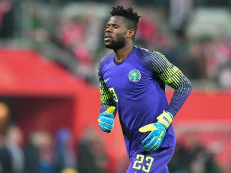 Rohr Hints Uzoho Is Eagles' Number One In Russia