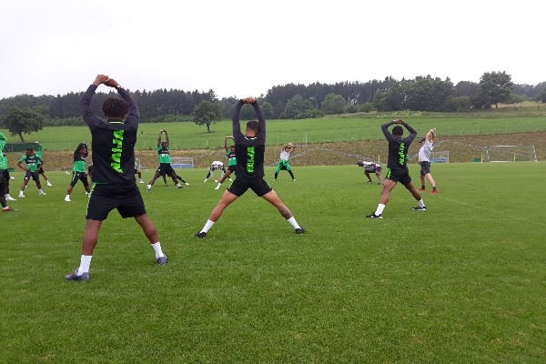 Eagles Hold Final Training Today Before Departing For Kaliningrad