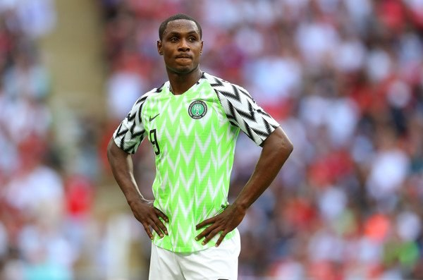 Ighalo: Super Eagles Won't Disappoint Nigerians At World Cup