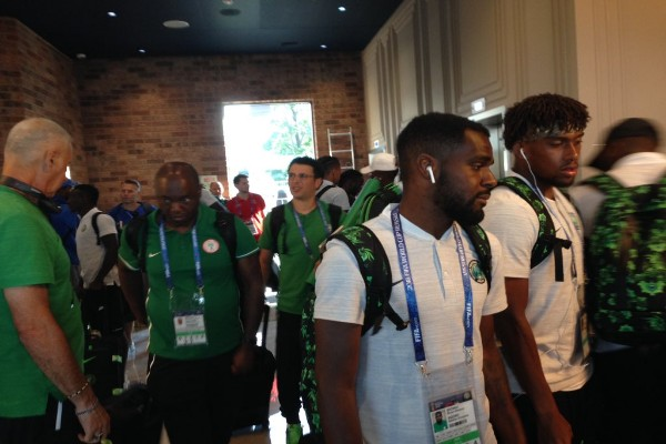 Super Eagles Arrive In Kaliningrad For Croatia Clash