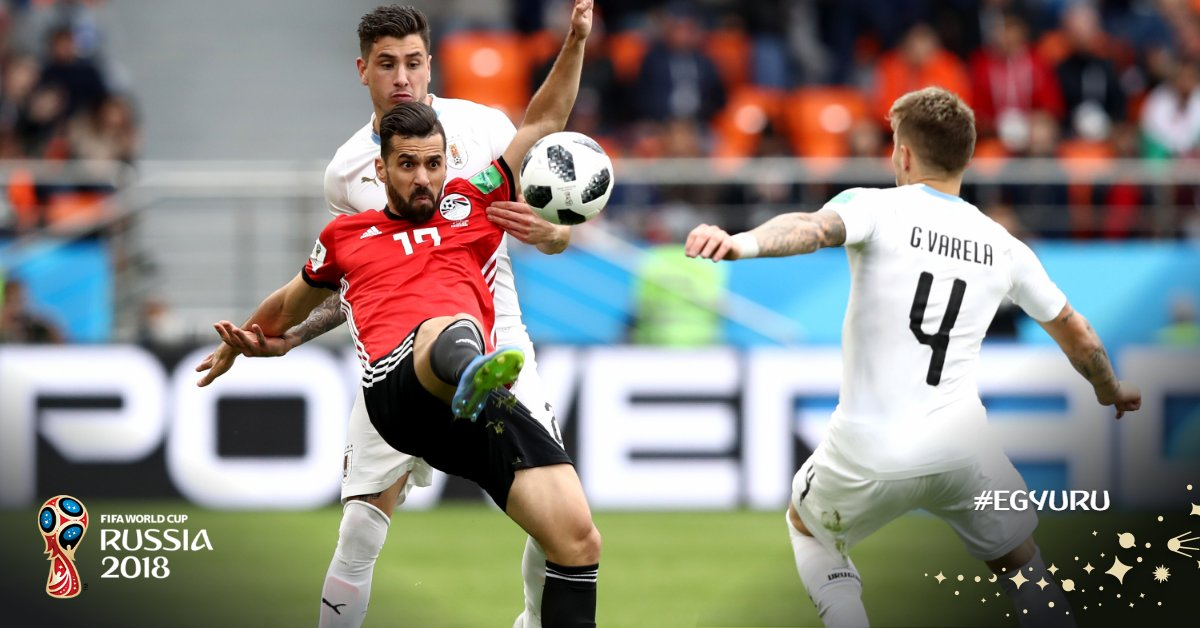 Salah Benched As Uruguay Break Egyptian Hearts With Late Goal