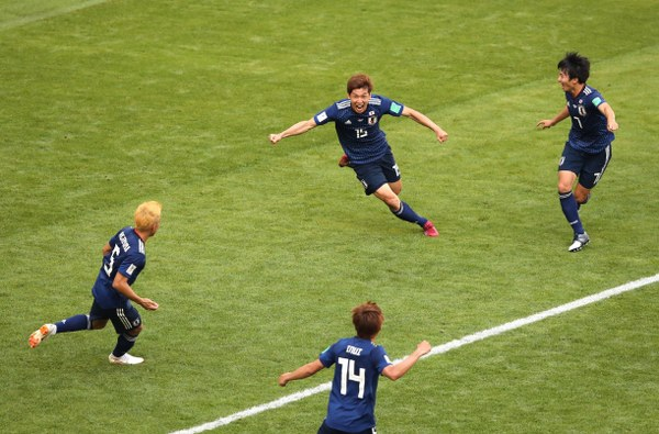 Japan Make World Cup History With Win Over 10-Man Colombia