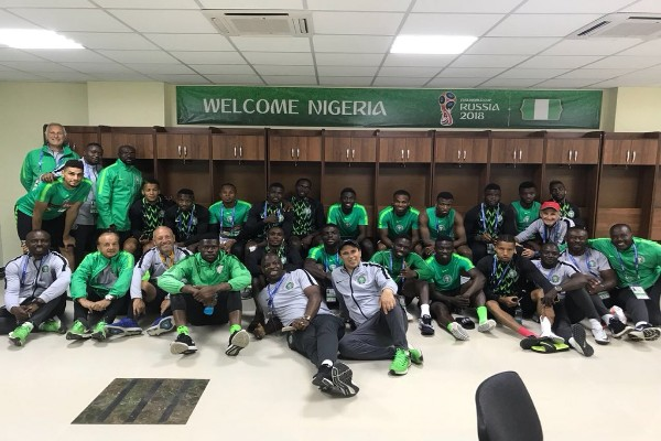Super Eagles Land In Volgograd, Rohr Confident; Saraki To Attend Clash Vs Iceland