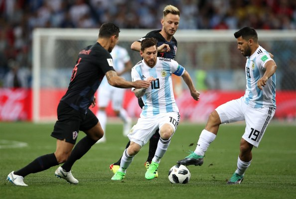 Argentina Set To Drop Aguero, Caballero For Super Eagles Clash; Di Maria To Start