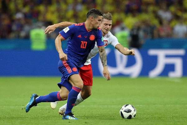 Rodriguez Voted MOTM In Colombia Win Over Poland