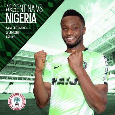 Mikel: Super Eagles Are Ready To Make Nigerians Proud Vs Argentina