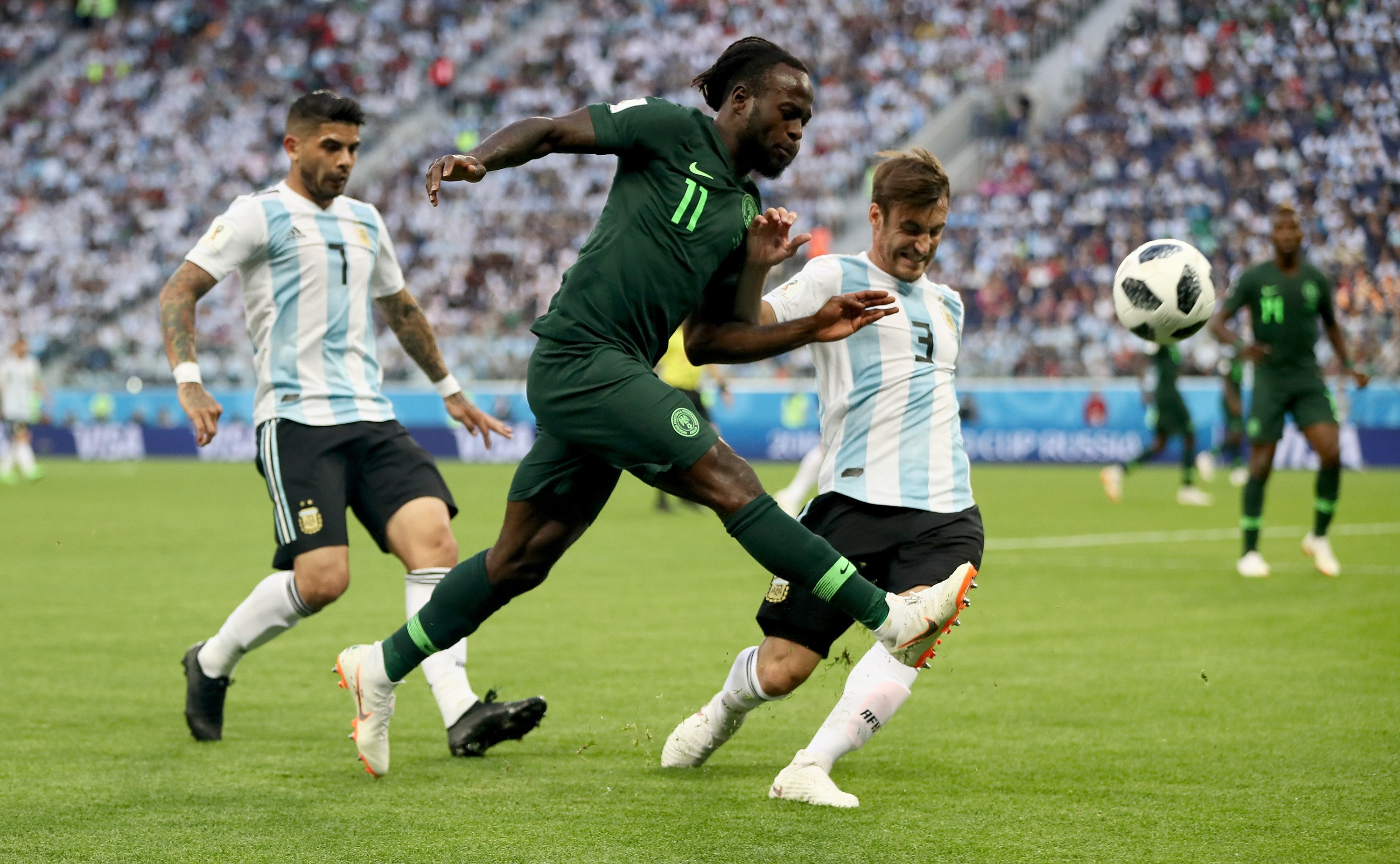 "Moses ""Devastated"" By Super Eagles World Cup Exit"