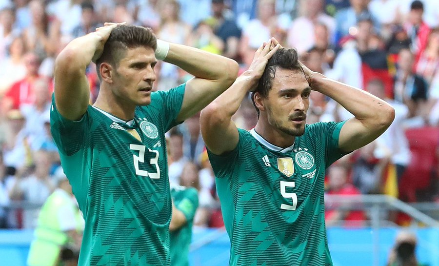 Drama As Champions Germany Crash Out; Mexico, Sweden Advance