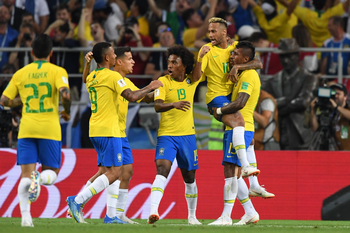 Brazil Ease Past Serbia, Secure Top Spot In Group E