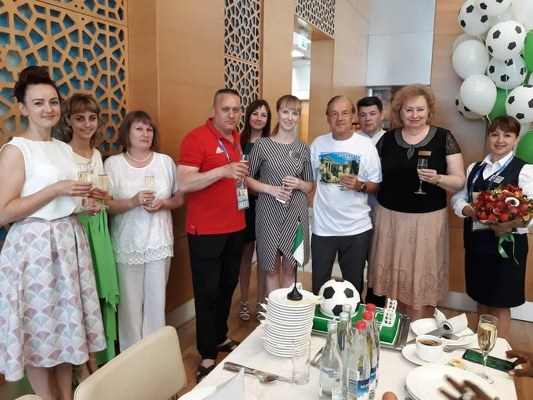 NFF, Essentuki Base Camp Staff Celebrate Rohr At 65