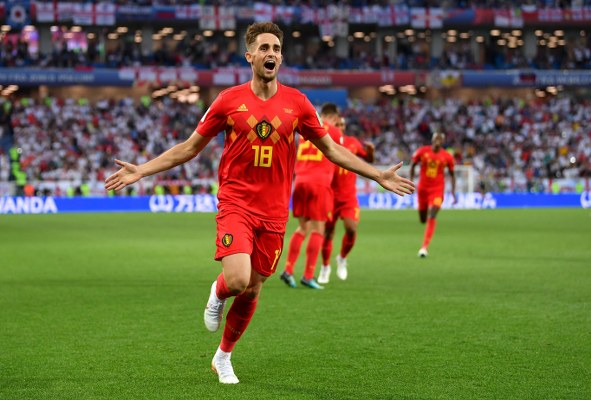 Belgium's Januzaj Voted MOTM After Stunner Against England