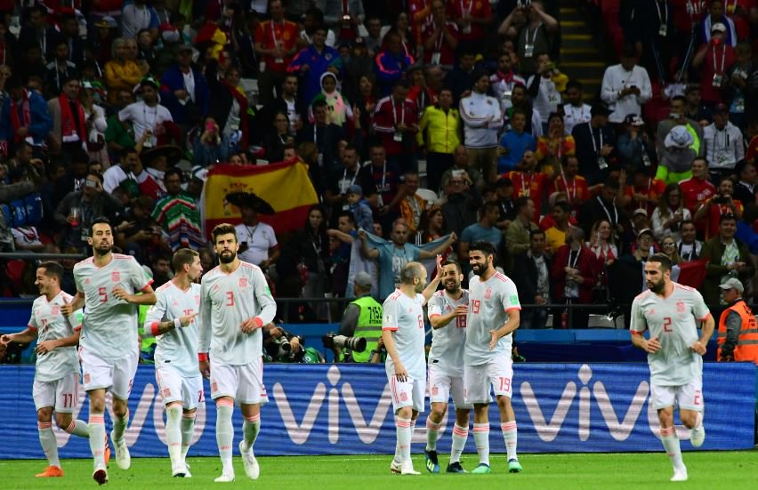 Costa Fires Spain Past Iran Amid VAR Drama