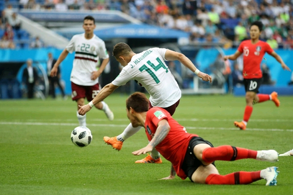 Chicharito Scores Historic Goal As Mexico Beat South Korea, Advance
