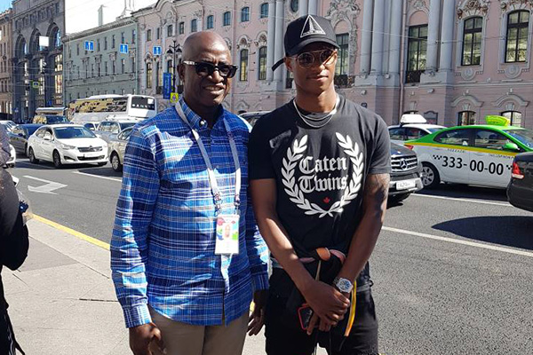 England's Rashford Excited To Meet Nigeria Legend Odegbami In Russia