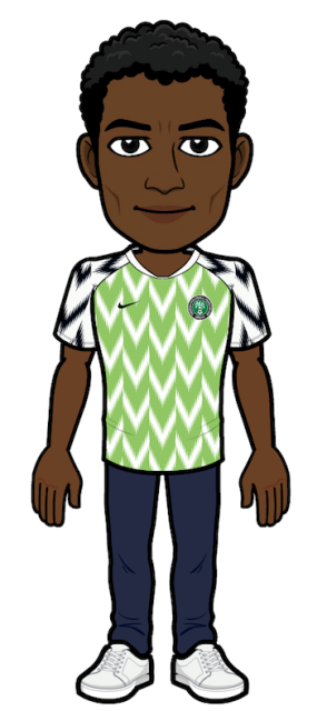 Nigeria Kit Now Available In Bitmoji