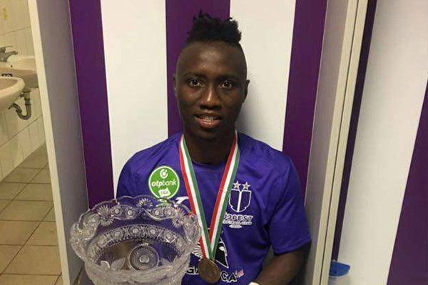 Hungarian League: Nwobodo Ends Season With Goal, Set For Europa League Challenge With Ujpest