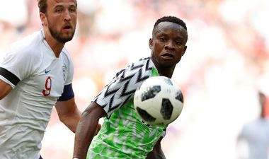 Onazi Vows To Improve At World Cup After Wembley Shocker