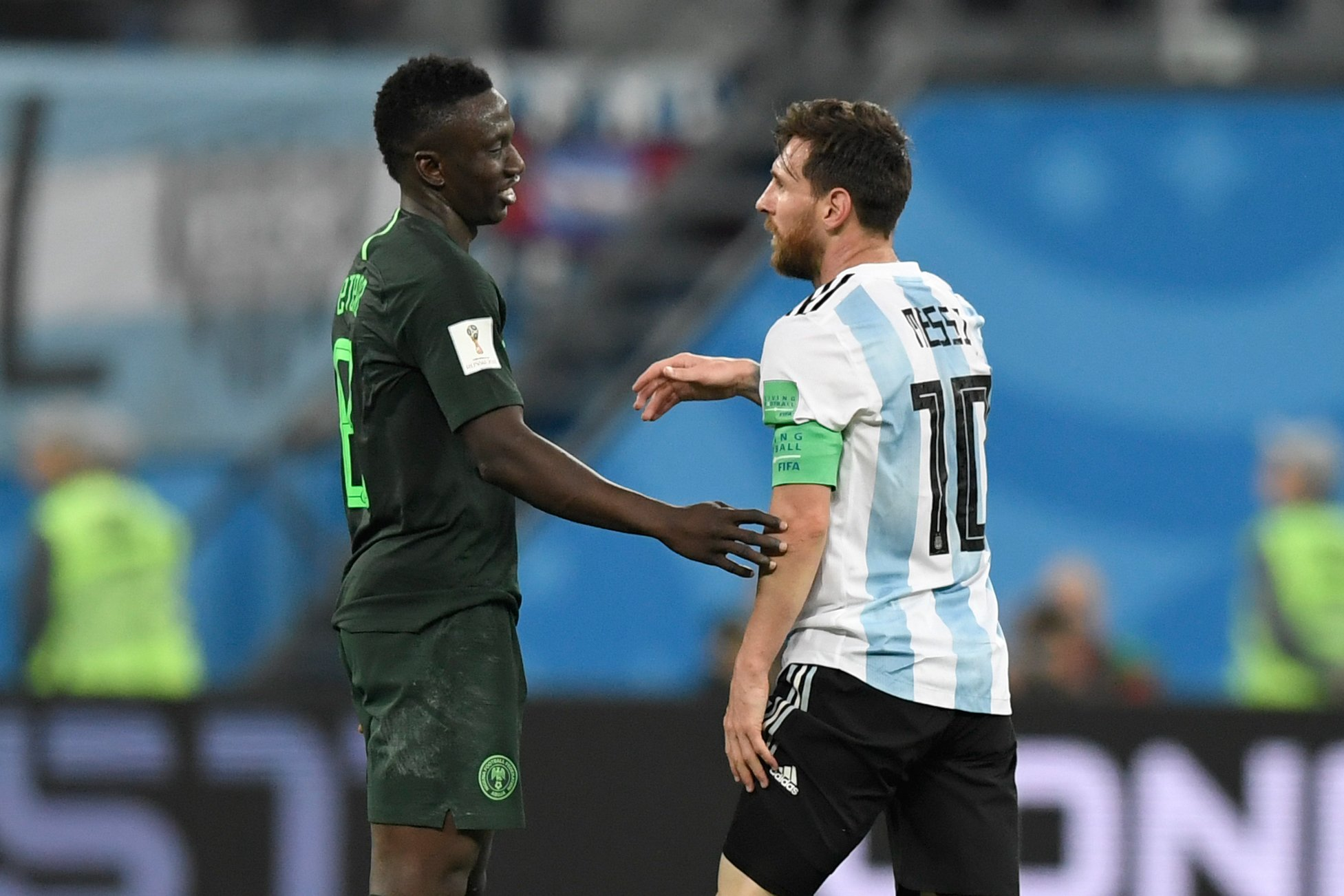 Etebo Beats Messi, Has Highest Rate Of Successful Take-Ons At 2018 World Cup