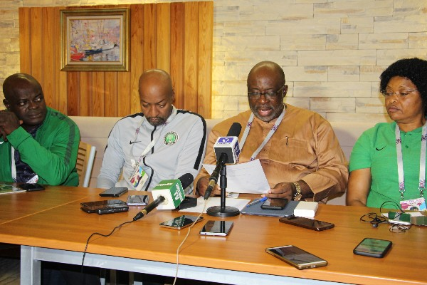Vice President Akinwunmi Assures NFF Is United Body, Eager To Steer Eagles To Winning Ways In Russia