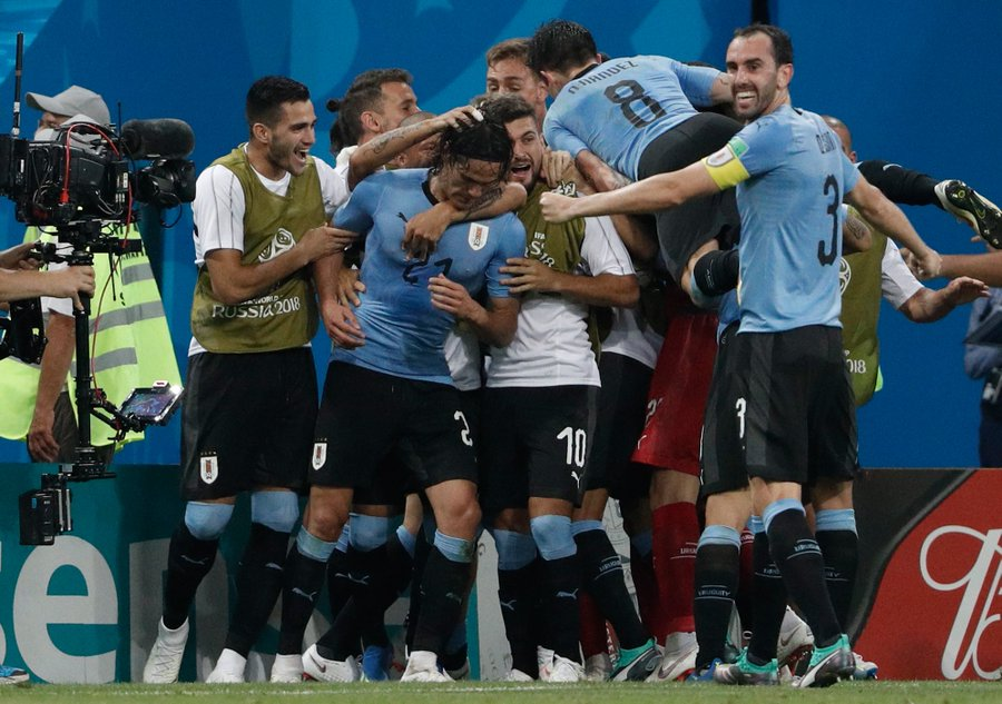 Cavani Fires Uruguay Past Portugal Into Quarter-Finals As Ronaldo Struggles