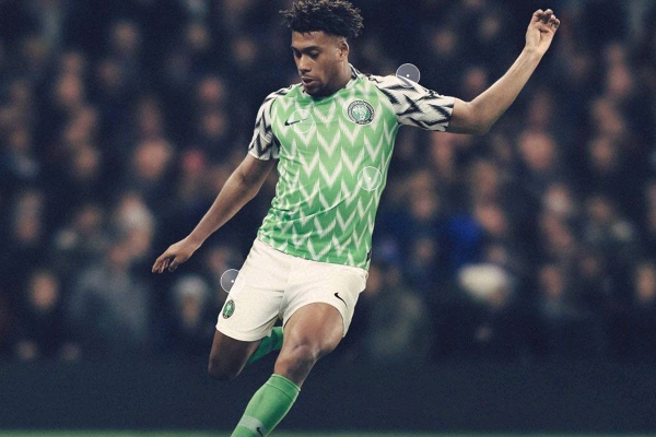 pretty nice 8dd8c 406a2 The Super Eagles Home Shirt Sold Out In London At N31,000 ...