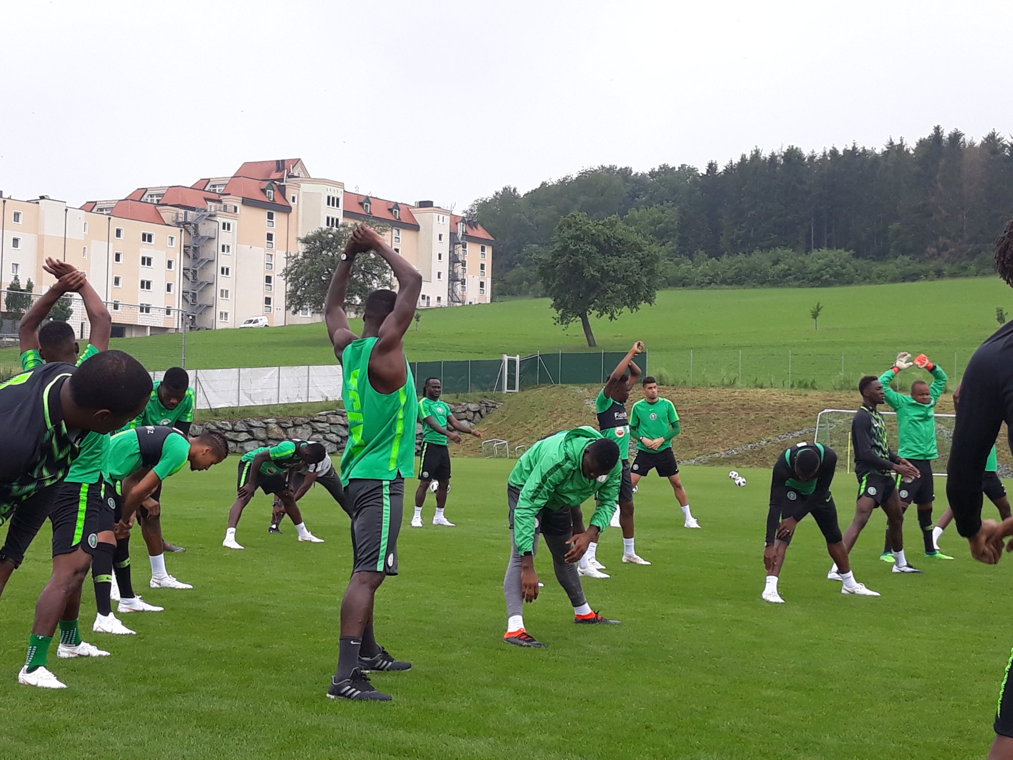 Super Eagles Settle Down In Essentuki; To Train 5pm