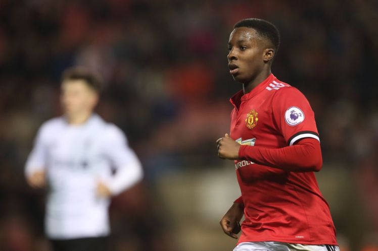Barcelona Interested In Man United's Nigerian Youngster Kehinde