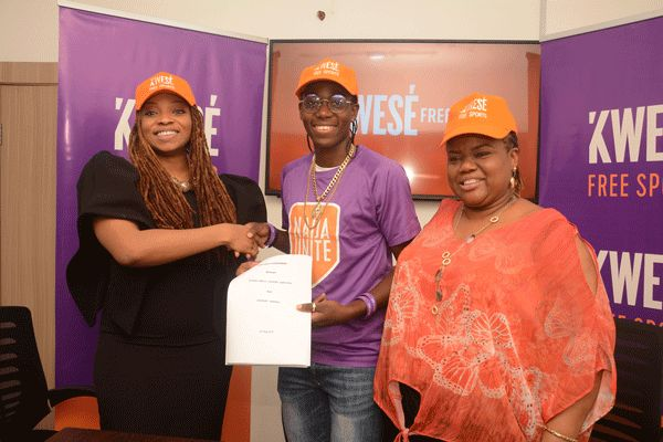 Kwese Free Sports Unveils Oshoala As Ambassador