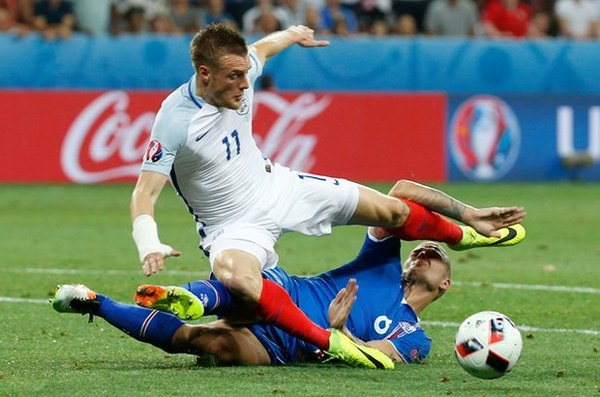 BEWARE SUPER EAGLES: Vardy On How Iceland Shocked England At Euro 2016