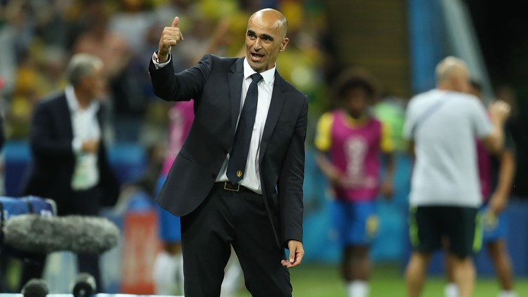 Martinez Hails Belgium Players For 'Special Win' Over Brazil