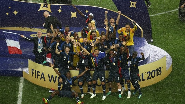 Allez Allez Bleus! France Edge Gallant Croatia To Win Second World Cup Title