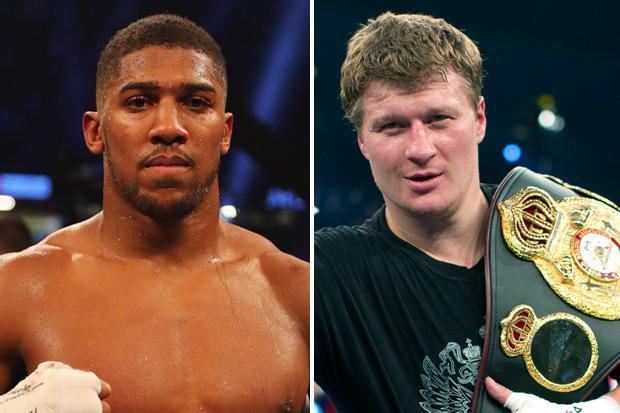 Joshua, Povetkin Clash In Wembley Sept 22