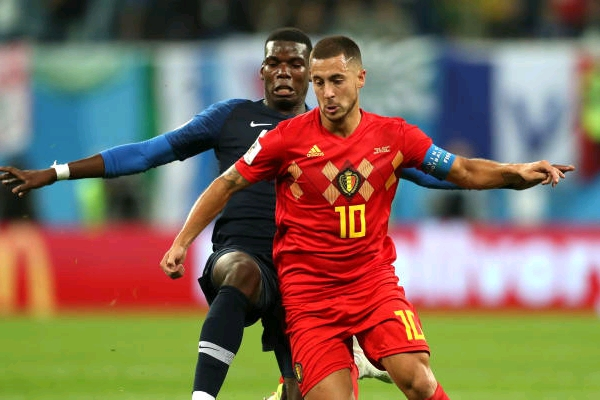 Russia 2018: Belgium Captain Hazard Blasts France's Tactics In Semi-Final Defeat