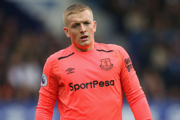 Anichebe: Everton Must Keep World Class Goalie Pickford