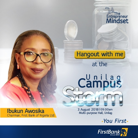 Greatest Akokite, FirstBank Is In The Air!