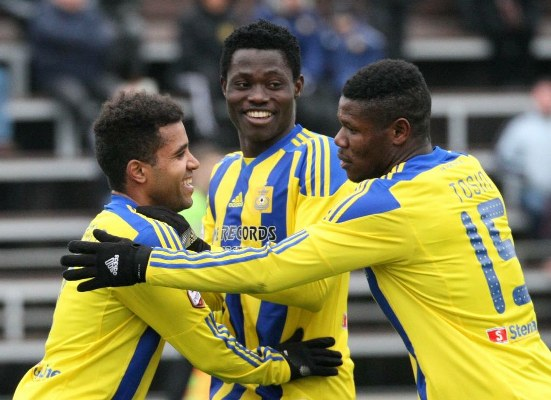 Two Nigerian Youngsters Hit All Goals In Latvian Club's 5-0 Europa Match Win