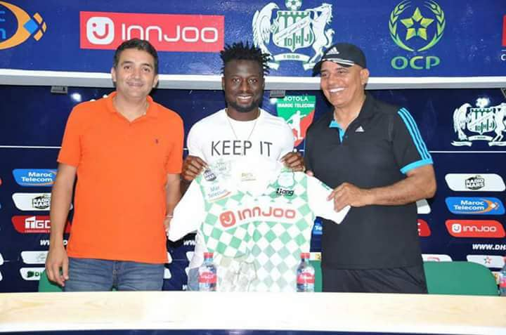 Okpotu Joins Moroccan Club DHJ On Three-Year Deal