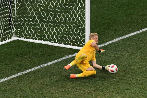 Schmeichel Voted MOTM Despite Denmark's Defeat To Croatia