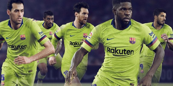 Barcelona Unveil New Away Kit For New Season