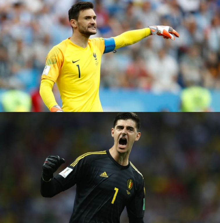 Giroud Labels LIoris Better Goalkeeper Than Courtois As France, Belgium Head For World Cup Semis Clash