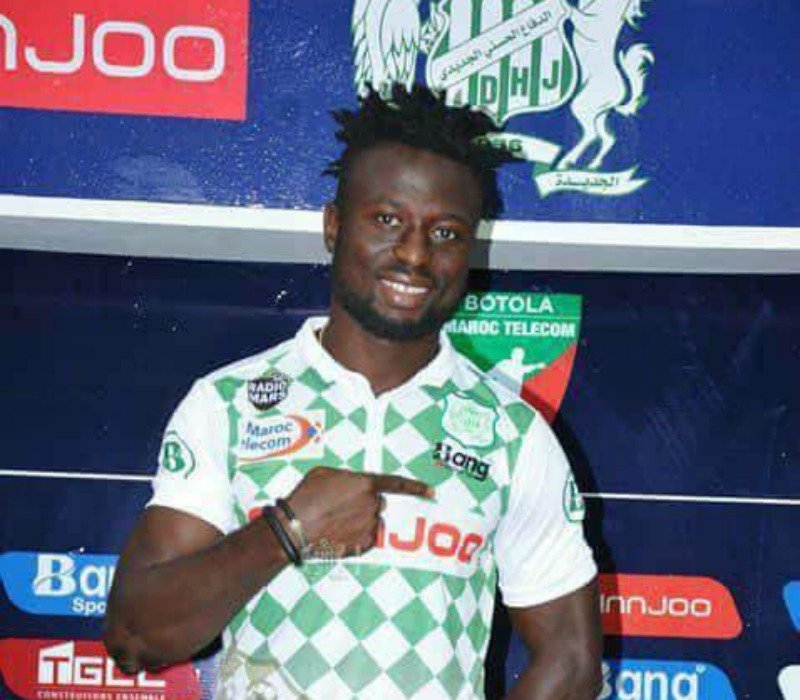 CAFCL: Okpotu To Make Official  Debut For Moroccan Club DHJ Vs Es Setif
