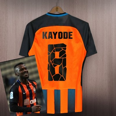 Kayode Gets New Shakhtar Donetsk Jersey Number 8