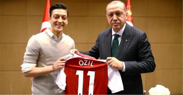 Ozil: My Meeting With Turkish President Not Political