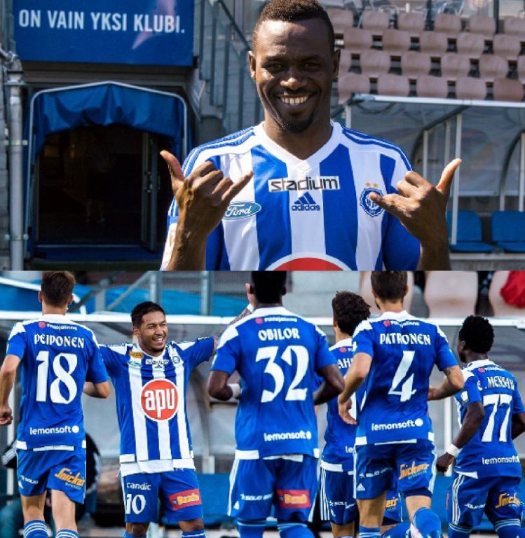 UCL 2nd Q/Round, 1st Leg: Chrisantus Debuts, Obilor In As HJK Helsinki Bag Away Draw