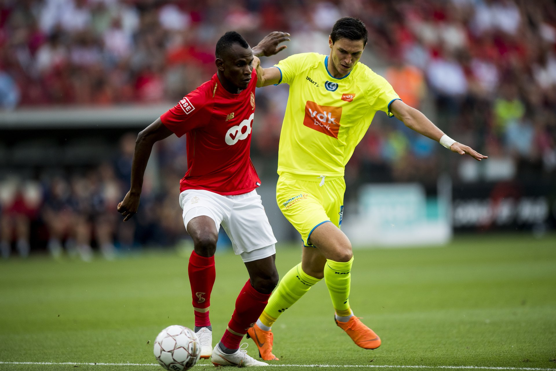 Agbo Starts, Esiti And Awoniyi Subbed On As Standard Liege Beat Gent On Belgian League Opening Day